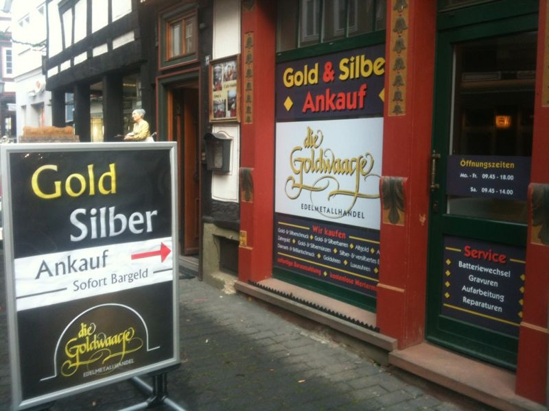 Die Goldwaage in Alsfeld
